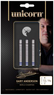 Softtip Unicorn Gary Anderson Phase 3 90% W.C | Darts Warehouse