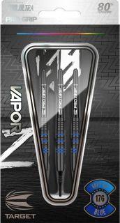 Vapor Z Black Blue 80% Softtip Darts   Darts Warehouse