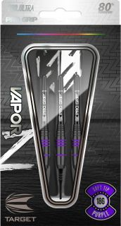 Vapor Z Black Purple 80% Softtip Darts   Darts Warehouse