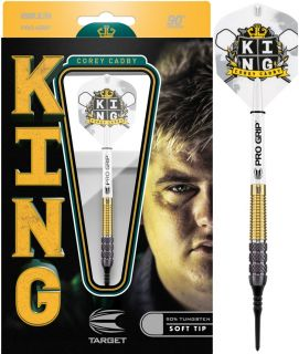 Softtip Corey Cadby King 90% 90% | Darts Warehouse