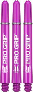 Target Pro Grip Purple Medium Shafts   Darts Warehouse