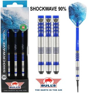 Softtip Bull's Shockwave 90% 20 gram Dartpijlen | Darts Warehouse