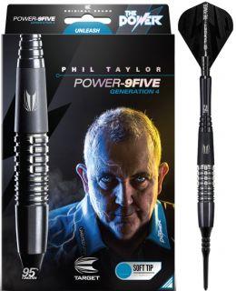 Softip Phil Taylor Power 9FIVE Gen.4 95% | Darts Warehouse