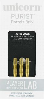 W.C John Lowe 90% Gold | Dartshop DartsWarehouse.nl