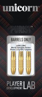 Purist Phase 2 John Lowe Gold 90% | Darts Warehouse