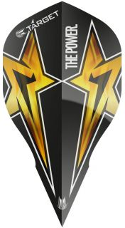 Target Phil Taylor Vision G3 Edge Black Star   Darts Warehouse
