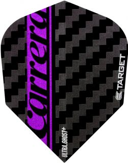 Vision Ultra Ghost Carrera Purple Target Dartflights | Darts Warehouse