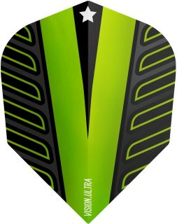 Vision Ultra Player Rob Cross Voltage Std.6 Lime Green   DartsWarehouse