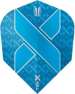 Vision Ultra Ten-X. Blue Target Dartflights | Darts Warehouse