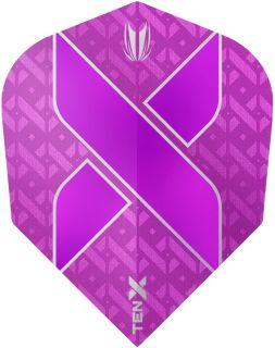 Vision Ultra Ten-X. Purple Target Dartflights | Darts Warehouse