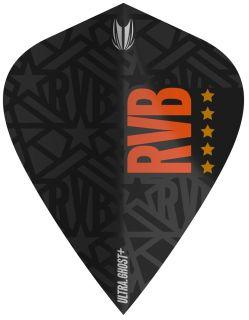 Vision Ultra Ghost+ RVB Kite Target Dartflight | Darts Warehouse
