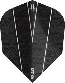 Vision Ultra Rob Cross Black Std.6 Target Dartflights | Darts Warehouse