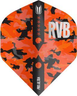 Vision Ultra Player Barney Army Camo Std. Target Flight | Darts Warehouse