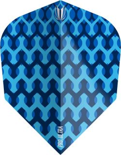 Vision Fabric Blue Target Dartflights | Darts Warehouse