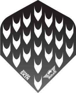 SharkSkin Black | Bulls Dartflights | Darts Warehouse