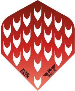 Shark Skin Red | Bulls Dartflights | Darts Warehouse