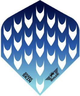SharkSkin Blue | Bulls Dartflights | Darts Warehouse