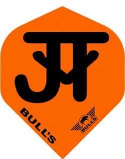 Bull's Powerflight Std. JvT Orange Black | Darts Warehouse