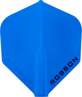 Robson Plus Flight Std. Blue | Darts Warehouse