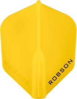 Robson Plus Flight Std.6 Yellow | Darts Warehouse