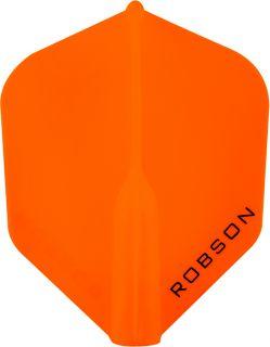 Robson Plus Flight Std.6 Orange | Darts Warehouse
