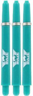 Nylon + ring Medium Aqua Bull's Shafts | Darts Warehouse
