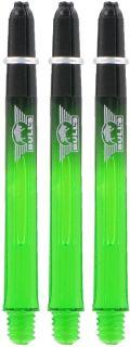 Airstriper Medium Green Bull's Nylon Shafts | Darts Warehouse