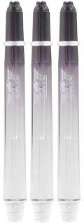 Airstriper Medium Clear Bull's Nylon Shafts | Darts Warehouse