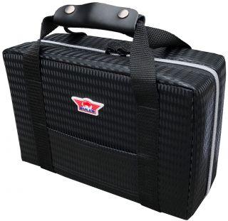 Ubertas XL Black Carbon Style Grootste Dartcase | Darts Warehouse