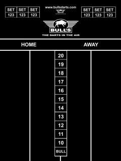 Bull's Chalk board 65x45