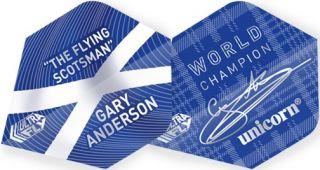 UltraFly Gary Anderson Big Wing Unicorn Flight | Darts Warehouse