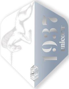 UltraFly Icon Silver Big Wing Unicorn Flight   Darts Warehouse