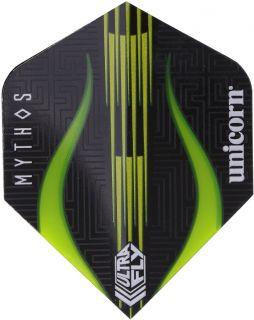 UltraFly Std. Mythos Minotaur Lime Unicorn Flight   Darts Warehouse