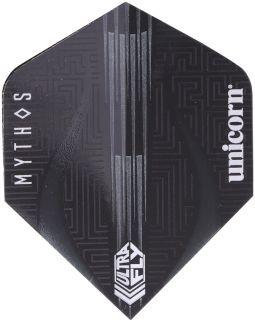 UltraFly Big Wing Mythos Minotaur Grey Unicorn Flight   Darts Warehouse