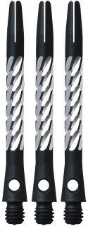 Unicorn Premier Aluminium Medium Black Shafts   Darts WareHouse