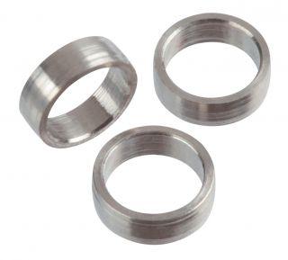 Target Titanium Slot Lock Rings 2mm 3pcs   Darts Warehouse