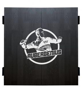 Bull's Aubergenius Deluxe Cabinet Black | Darts Warehouse