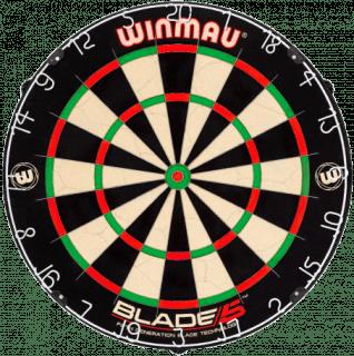 Winmau Blade 5 Dartbord Morgen in Huis | Darts Warehouse