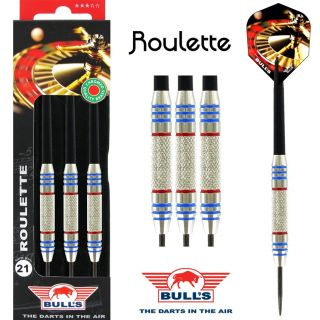 Roulette Nickel Silver Dart set | Bulls Dartpijlen Kopen | Darts Warehouse