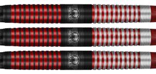 Bulls Softtip Phantom Grip 90% Red | Darts Warehouse