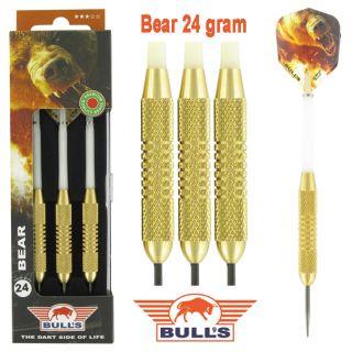 Bear Brass 24 gram | Bulls Darts Kopen | Darts Warehouse