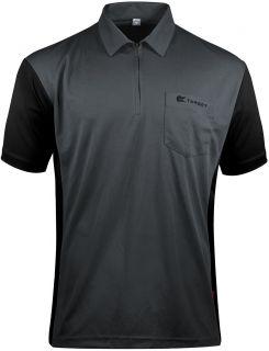 Coolplay 3 Hybrid Grey Black Target Dartshirt | Darts Warehouse