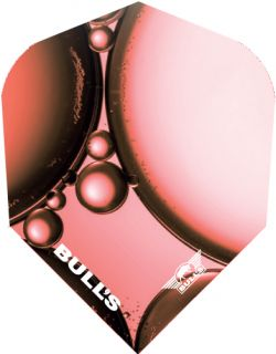 Bull's Powerflite Std.6 Red Bubble | Darts Warehouse