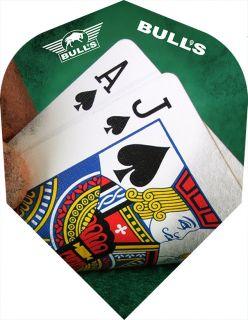 Bull's Powerflite Std.6 Blackjack | Darts Warehouse