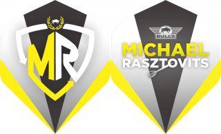 Powerflite P Rasztovits Logo Flight Bull's | Darts Warehouse