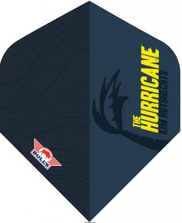 Kim Huybrechts The Hurricane Blue Std. Powerflite Bull's | Darts Warehouse