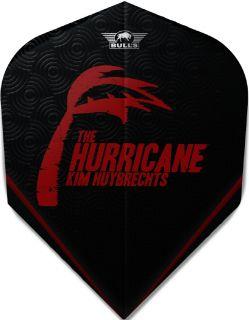 Kim Huybrechts The Hurricane Black Std. Powerflite Bull's | Darts Warehouse
