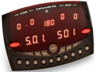 Dartsmate Elite   Elektronisch Scorebord   Darts Warehouse