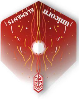 UltraFly Elements Red Firestorm Std. Unicorn Flight | Darts Warehouse