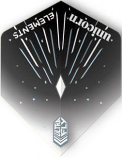 UltraFly Elements Black Icestorm std. Unicorn Flight | Darts Warehouse